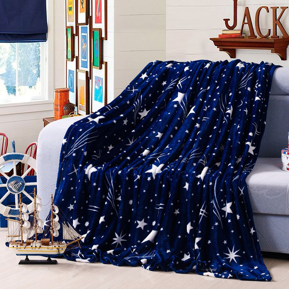 Fleece Blanket Lightweight Throw/Bed Blanket