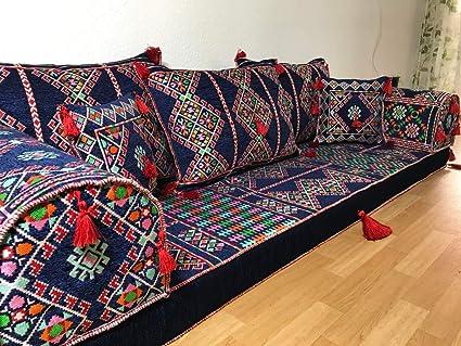 Orient Oriental sofá, sedari, Kelim Cojín de Suelo ...