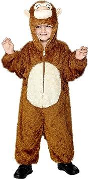 Smiffys 30011- Disfraz de mono para niño, talla 7-9 años: Smiffys ...