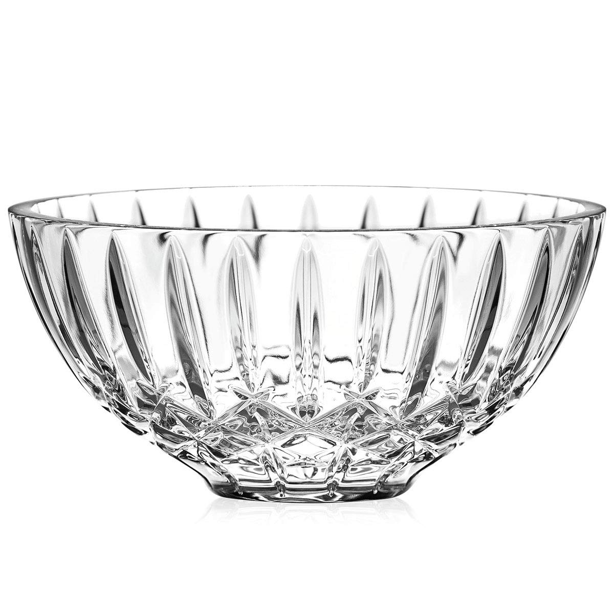 Waterford Heritage Crystal Serving Centerpiece Bowl, 8 Inches
