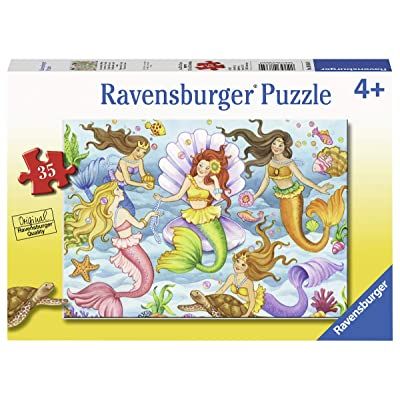 Ravensburger 08684, Queens of The Ocean 35 Piece Puzzle for Kids, Every Piece is Unique, Pieces Fit Together Perfectly: Toys & Games