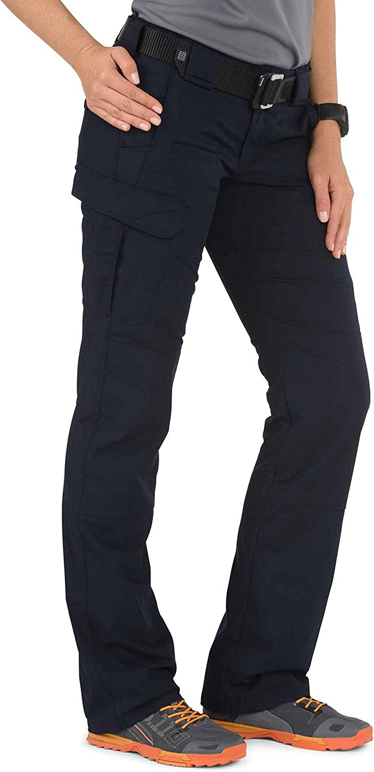 5.11 Tactical Womens Stryke Covert Cargo Pants Stretchable Style 64386 Gusseted Construction