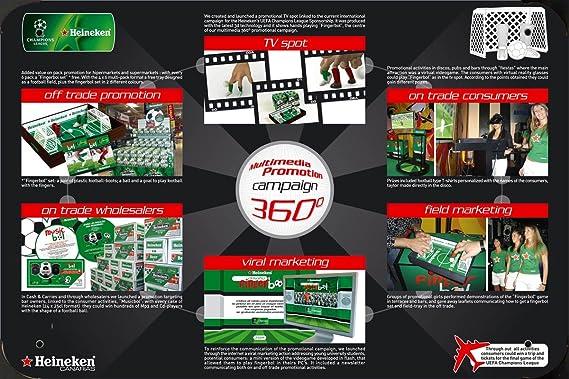 Heineken Beer: HEINEKEN FINGER BOL metal poster cartel ...