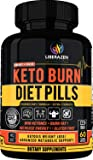 Keto Burn Diet Pills - Instant Ketosis BHB Supplement for Women and Men - Advanced Weight Loss, Energy & Focus - 60…