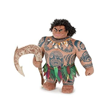 MAUI Peluche 27cm Felpa de la película Disney MOANA Oceania Vaiana