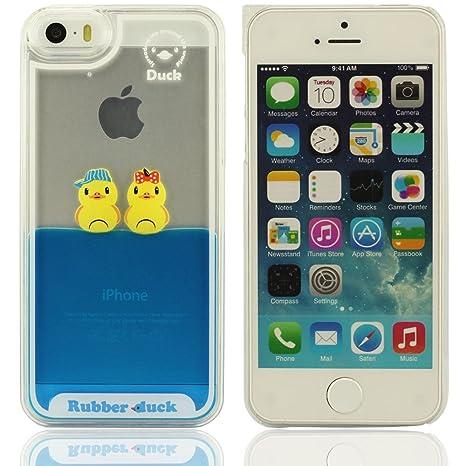 coque iphone 7 silicone bleu canard
