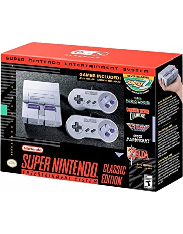 SUPER NINTENDO CLASSIC EDITION CONSOLE Renewed [NINTENDO]