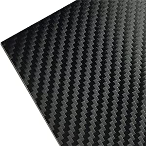 "3M 1080 CF12 BLACK CARBON FIBER 60""x24"" Vinyl Flex Wrap"