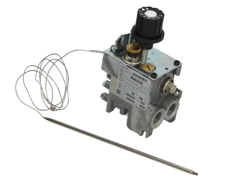 630 eurosit freidora de gas válvula de control de temperatura termostato 110 - 190oc 0630332: Amazon.es: Industria, empresas y ciencia