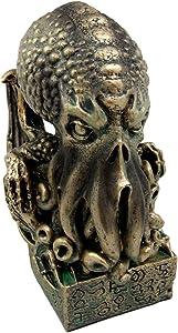Ebros Ocean Terror The Call Of Cthulhu Skull Figurine 7