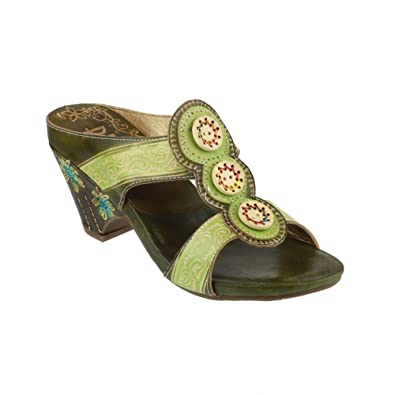 592d17b1d855 RIVA Congo Leather Womens Sandals (37 EUR) (Lime)  Buy Online at Low Prices  in India - Amazon.in