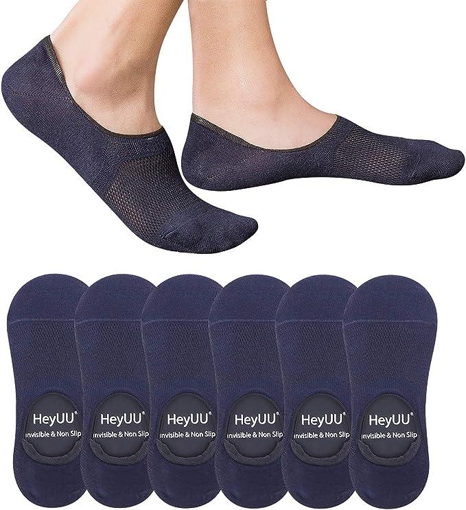 HeyUU 3 | 6 | 10 Pares de Calcetines de Algodón para hombres y ...