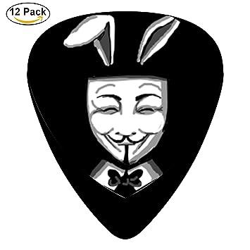 RT Classic celuloide púas, 12 unidades, Moto para guitarra eléctrica, guitarra acústica, mandolina, y Graves (Bugs Bunny): Amazon.es: Instrumentos musicales