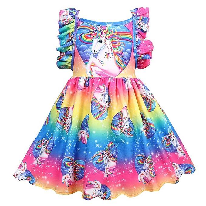 Amazon.com: TTMOW - Vestido casual de princesa con estampado ...