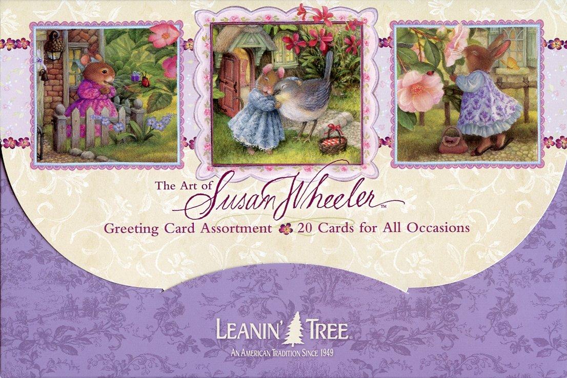 Amazon 1 X The Art Of Susan Wheeler Cute Greeted Card