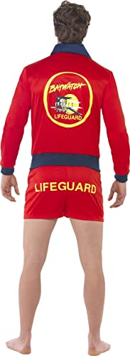 Smiffys Baywatch Lifeguard Beach The Rock Adult Mens Halloween Costume 20587