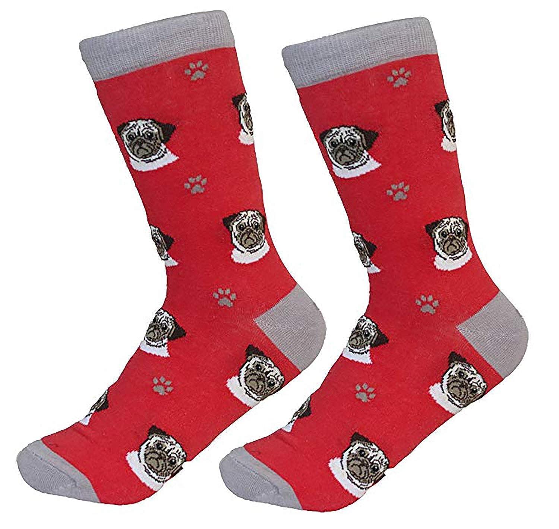 Amazon.com: Pug perro de raza calcetines calcetín de Unisex ...