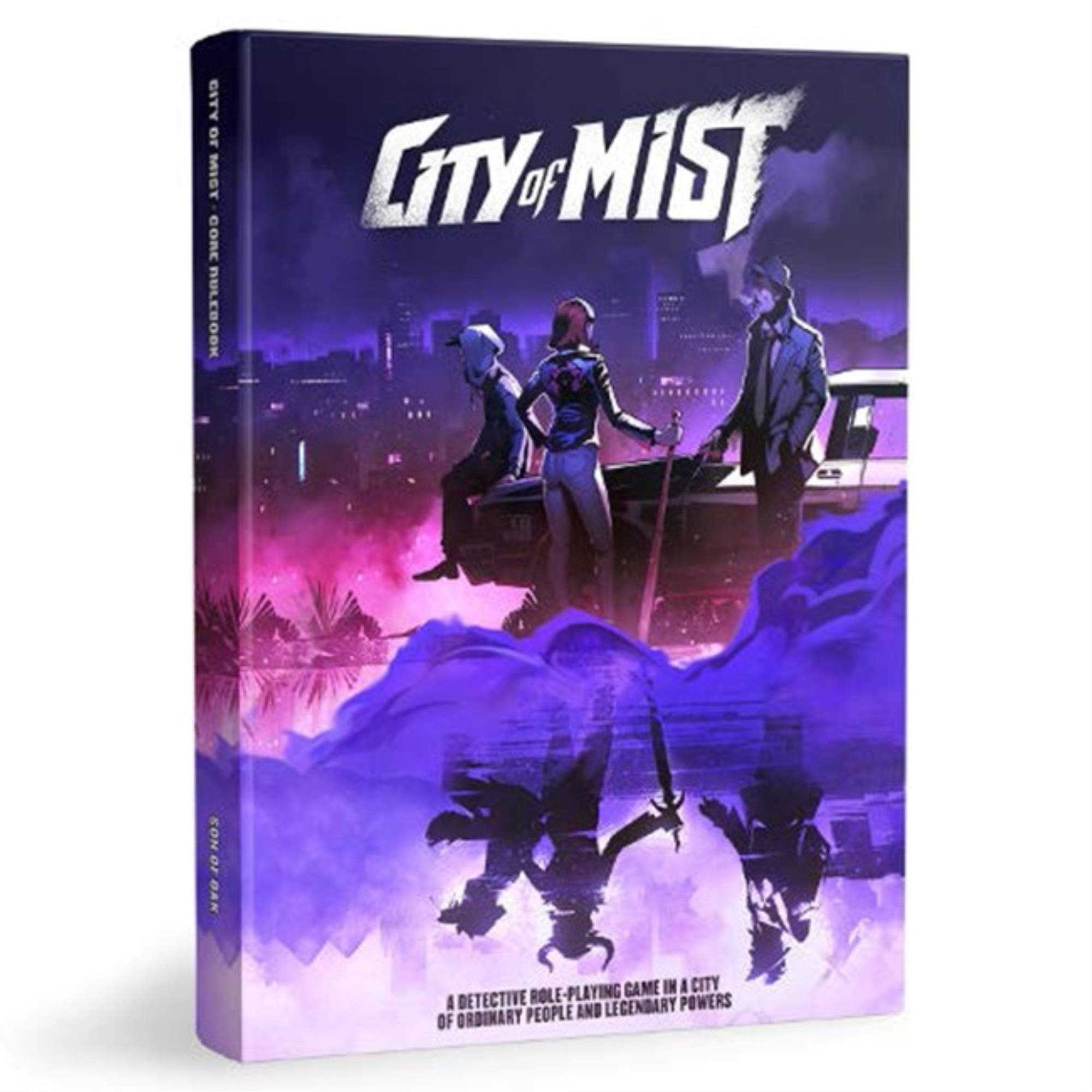 City of Mist Role-Playing Game Core Book: 9789659258710