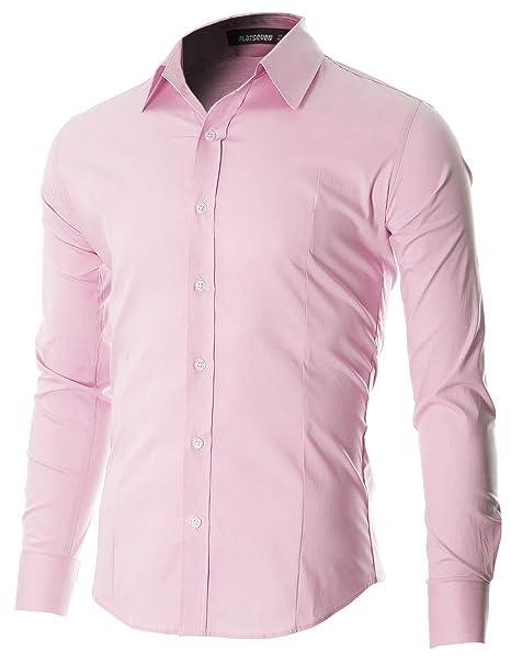 Boutonné Et Flatseven Col Casual Vêtements Chemise Homme r1THSTw6q