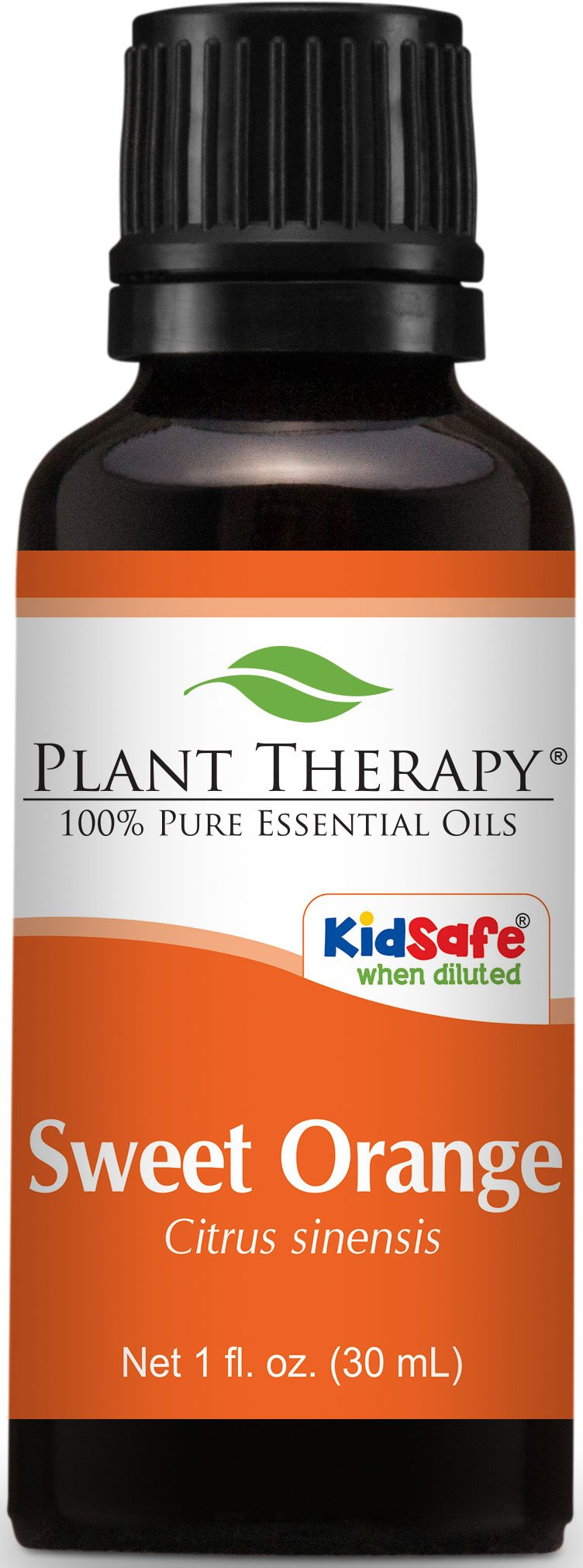 Plant Therapy Sweet Orange Essential Oil. 100% Pure, Undiluted, Therapeutic Grade. 30 ml (1 oz).