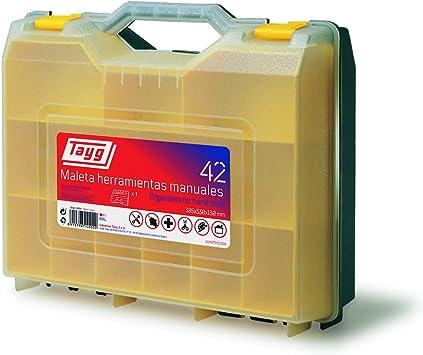 Tayg Maleta para herramienta eléctrica n. 42, Verde, Transparente ...