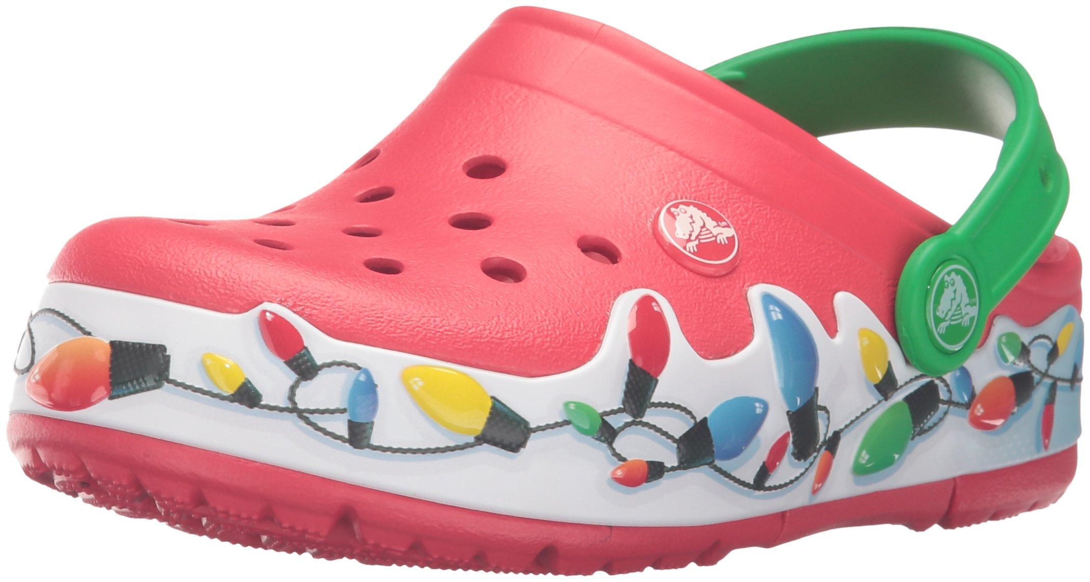 Crocs Lights Holiday Clog (Toddler/Little Kid), Multi, 8 M US Toddler