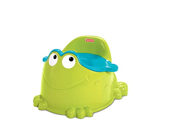 Baby Products Multi-Colour Potty Training & Step Stools Fisher-Price DKH99 Froggy Potty