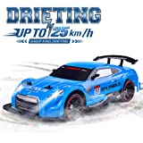 NQD RC Car Electric Racing Drift Car 1/14 2.4Ghz Radio Remote 25Km/h Controlled RTR Truck for Kids Adults Gifts 4WD High Speed Racer Car with 7.4V Battery and One Extra Rechangeble Car Shell