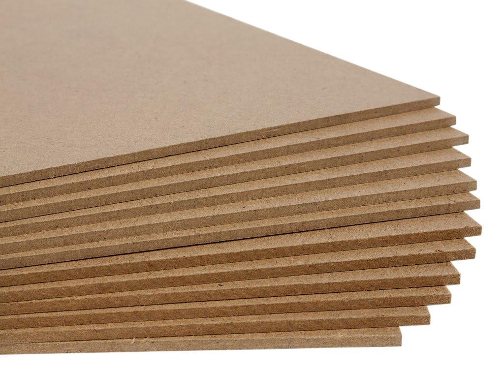 Jack Richeson Medium Density Untempered Hardboard(12 pack) , 6x6