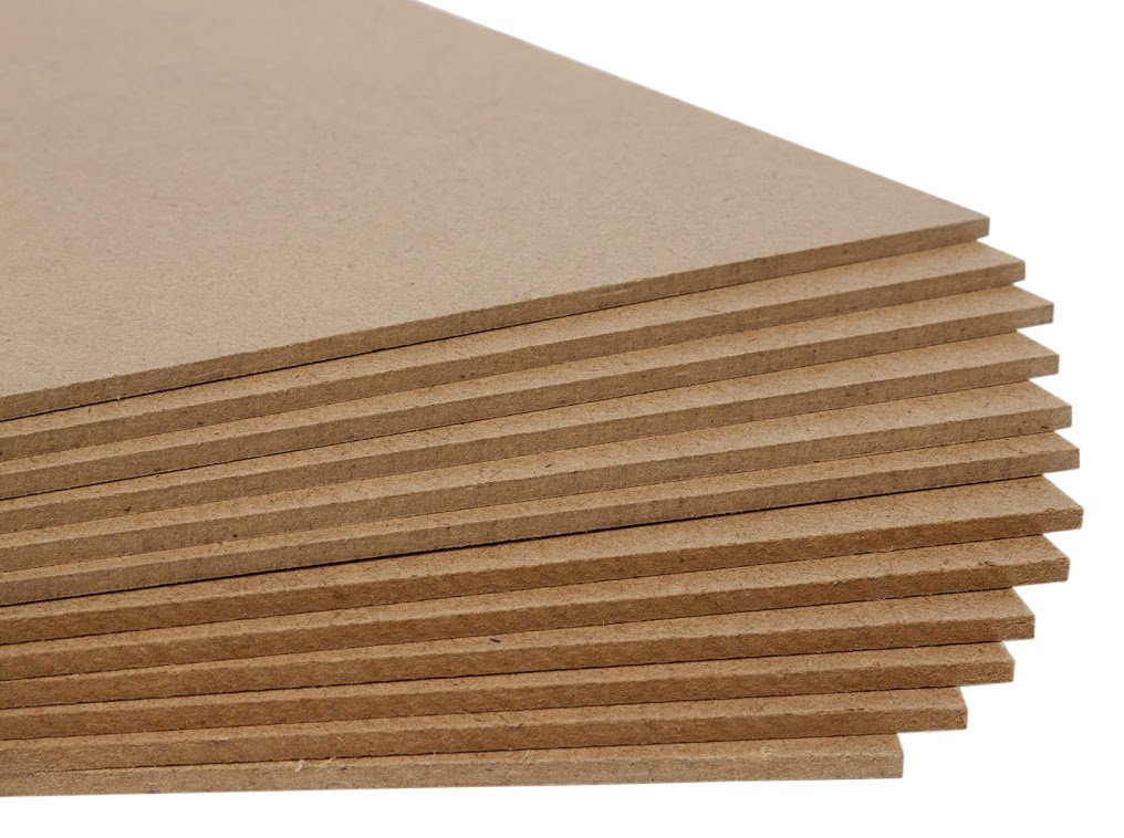 Jack Richeson Medium Density Untempered Hardboard(12 pack) , 6x6 by Jack Richeson