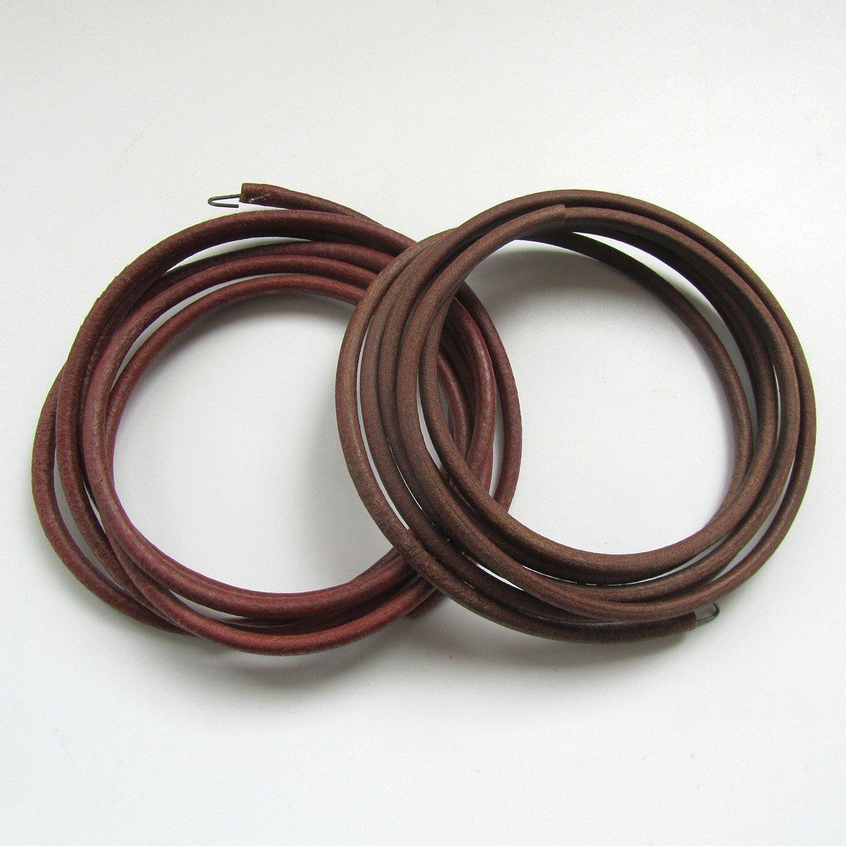 'kunpeng–# B111–68pezzi lunghezza 68 diametro 3/16, longitud173cm, diametro 5mm, 2pezzi, per Singer 14K E La maggior parte delle macchine di pedale