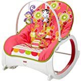 Fisher-Price Infant-to-Toddler Rocker - Floral Confetti , 6.25x15.75x25.63 Inch (Pack of 1)