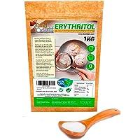 Eritritol 100% Natural Envase Ecologico 1Kg Edulcorante Cero Calorias | Ideal para Reposteria, y Dietas |DULCILIGHT el sabor natural del azúcar.