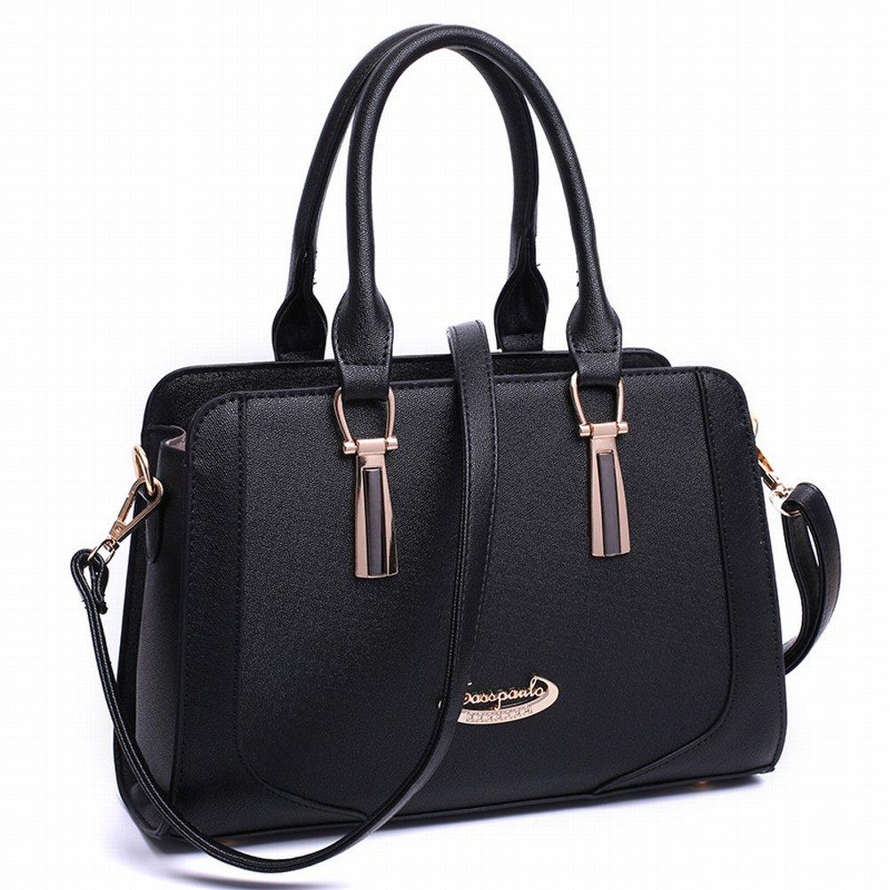 Weibliche Handtasche Schulter Messenger Bag Mode Killer Tasche , schwarz