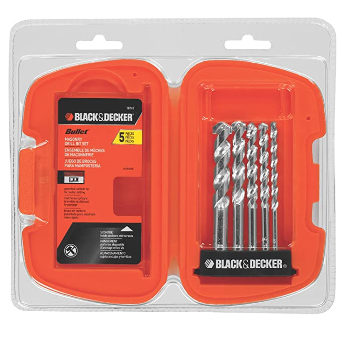 The Best Black And Decker Drill And Masonary Bits Set