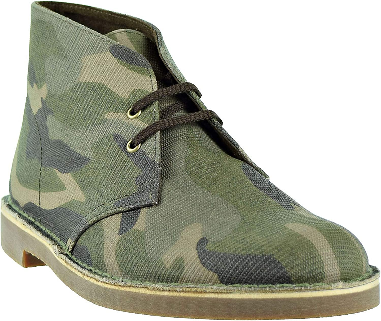 Clarks Limited Edition Bushacre Camouflag Khaki 26141674 Men/'s Boot