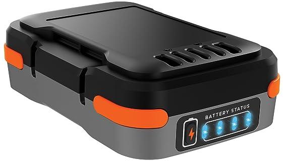 Black + Decker 12V/1,5Ah USB-Akku für Black+Decker 12 Volt Sortiment, Ladekabel, Lieferung im Karton - BDCB12B-XJ