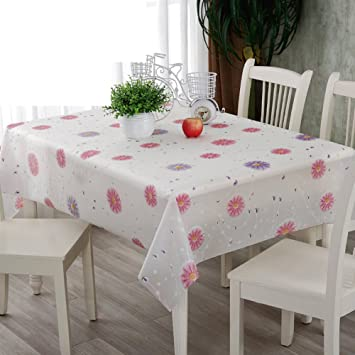 6ed93c916d1 disposable tablecloths Oilproof and waterproof tablecloths  square dining  table cloth pvc plastic tablecloths
