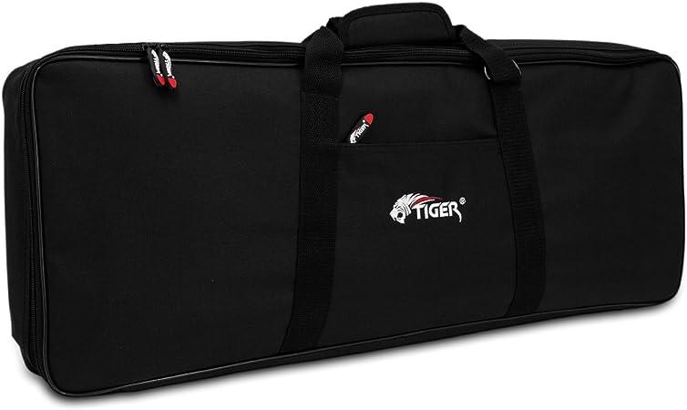 Tiger KGB7-01 - Funda acolchada para teclado, 720 x 280 x 75 mm