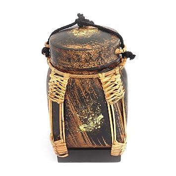 Amazon.com: Thai Arroz Caja hecha a mano de bambú, Tailandia ...