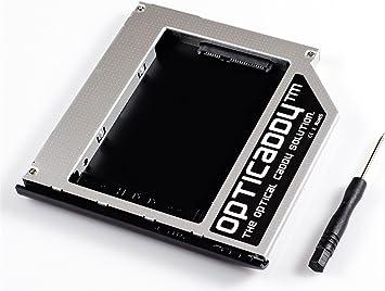 Opticaddy© SATA-3 HDD/SSD Caddy Adaptador para HP Elitebook ...