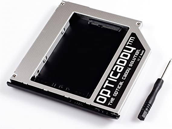 Opticaddy© SATA-3 HDD/SSD Caddy Adaptador para HP Elitebook 2530p ...