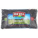 Iberia Black Beans, Dry Beans 4 lbs, Bulk Dry Black Beans Bag, Fiber & Protein Source, Farm Fresh# 1 Grade Black Beans