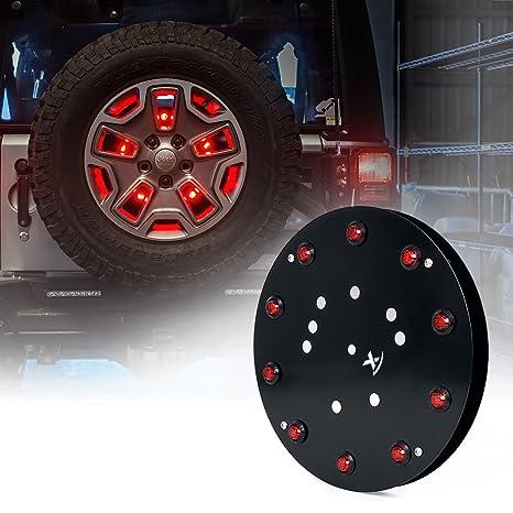 """xprite 12,5 """"Vortex Series rueda de repuesto tercera luz de freno de"""