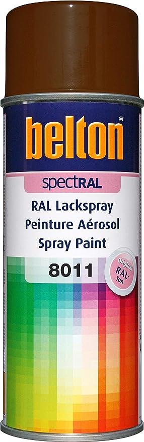 Belton Spectral Lackspray Ral 8011 Nussbraun Glänzend 400 Ml Profi Qualität Baumarkt