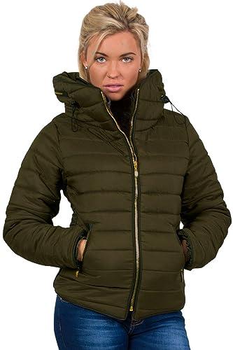 PILOT® chaqueta de manga larga acolchado puffa