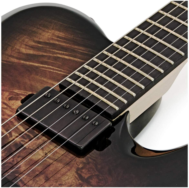SubZero Paradigm Guitarra Electrica Baritono Black Burl Burst ...