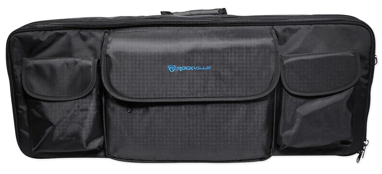 Rockville 49-Key Case Soft Carry Bag 4 Impulse+Launchkey 49 Controller Keyboards RVBAG49