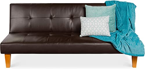 Best Choice Products Convertible Lounge Futon Sofa Bed w/Adjustable Back