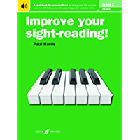 Improve your sight-reading! Piano Grade 2 book cover